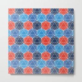 BP 80 Hexagon Metal Print