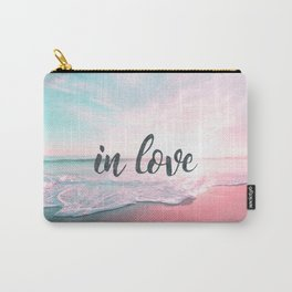 In Love on the beach Carry-All Pouch