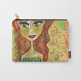 """""""Life Should Not Only Be Lived, It Should Be Celebrated"""" Osho Carry-All Pouch"""
