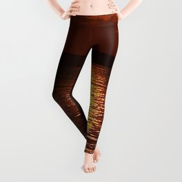 Gold From Above Leggings