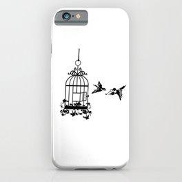 Bird Cage iPhone Case