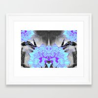 geode Framed Art Prints featuring Geode 1 by michiko_design