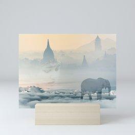 Walking through your dreams Mini Art Print