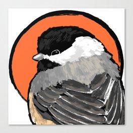 Bird no. 472: Lil Grump Canvas Print