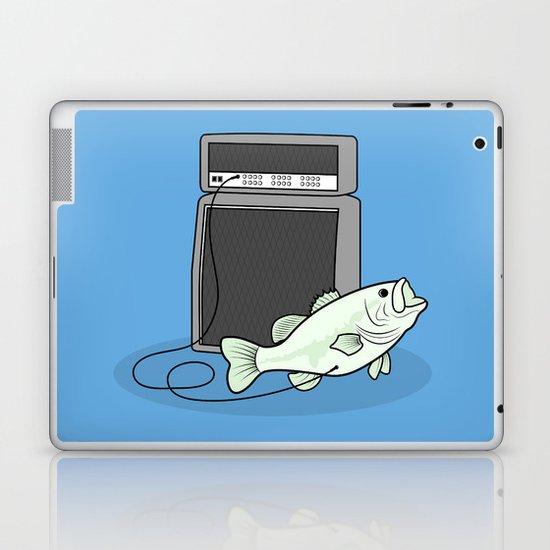 I PLAY BASS Laptop & iPad Skin