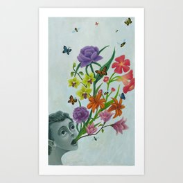 Spring Expression - Print Version Art Print