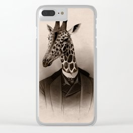 Uncle Gerald Clear iPhone Case