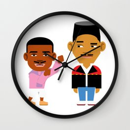 The Fresh Prince (Version 2) Wall Clock