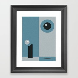 OUT YONDER Framed Art Print