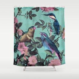 Kingfisher Kingdom Shower Curtain