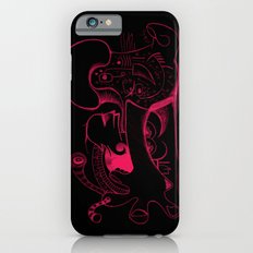 Human body in magenta iPhone 6s Slim Case