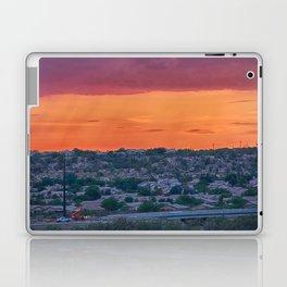 Sunset Construction Laptop & iPad Skin