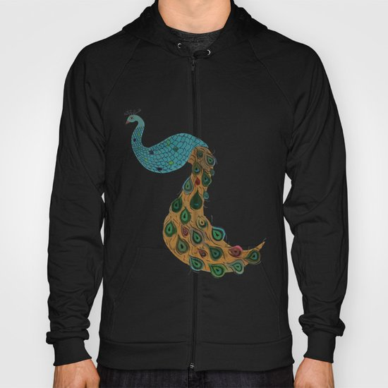 Florence the Peacock Hoody