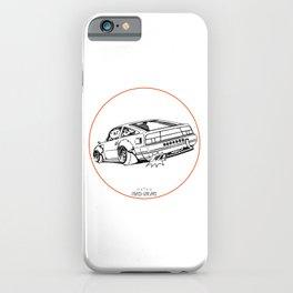 Crazy Car Art 0206 iPhone Case