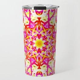 Flower of Lines Travel Mug