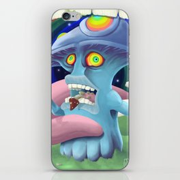 Cannibalism.. Not even once iPhone Skin