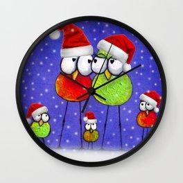 Tis' The Season Wall Clock
