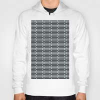 subway Hoodies featuring Subway Tiles by John D'Amelio