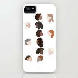 We Listen iPhone Case