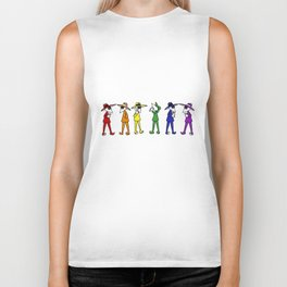 Rainbow Spy Party Biker Tank