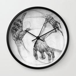 hand of life Wall Clock