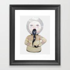 Jeremy's Impotence Framed Art Print