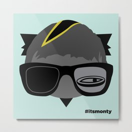 It'sMonty13 Metal Print