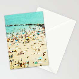 Coney Island Beach 2 Stationery Cards