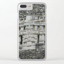 Xunantunich Clear iPhone Case