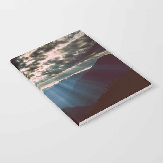 mountainS Dark Sunset Notebook