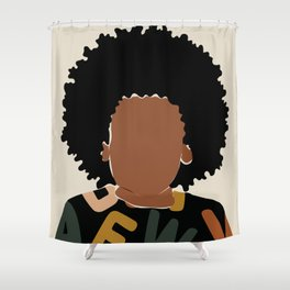 Baby Fro Shower Curtain