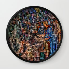 Wolf Puter Wall Clock