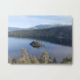 Serenity of Emerald Bay Metal Print
