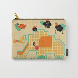Elephant Playground Carry-All Pouch