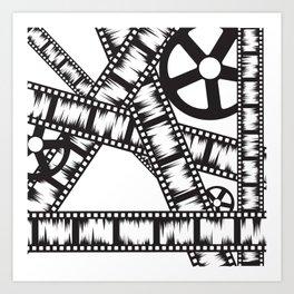 Film Rolls Art Print