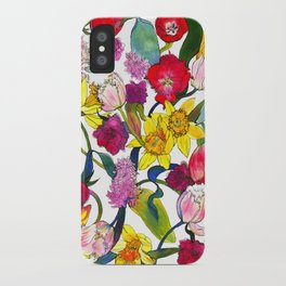 Tulips & Daffodils  iPhone Case