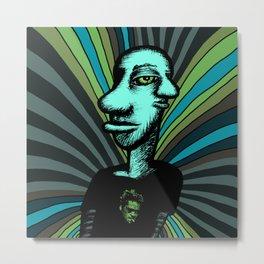 Tyler Durden Metal Print
