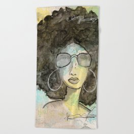 Dope Girl Beach Towel