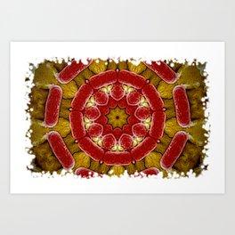 circulo bacteriano Art Print