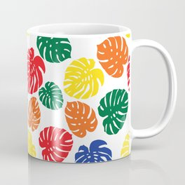 Primary Philodendron Coffee Mug