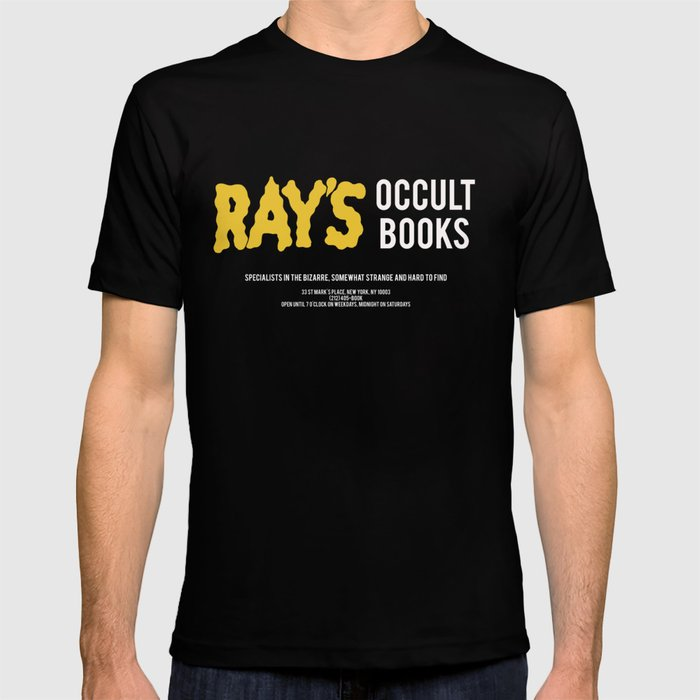Ray's Occult Books Ghostbusters tribute T-shirt by debordmode