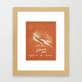 AfterShock - The Interplanetary Series Framed Art Print