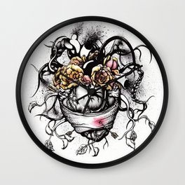 The Wounded Frida Kahlo Wall Clock