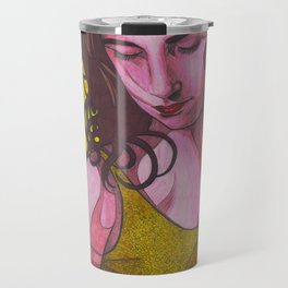 Polly Jean and Ghosts Travel Mug