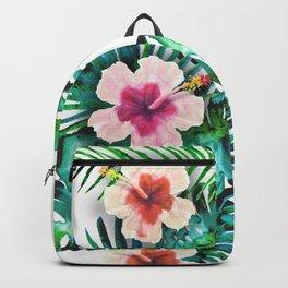 tropical leaves Backpack