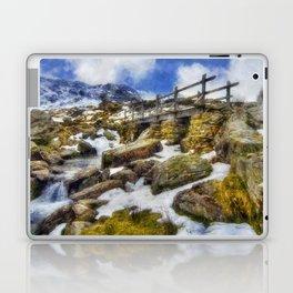 Bridge To Lake Idwal Laptop & iPad Skin