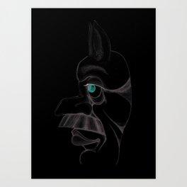 Konne Art Print