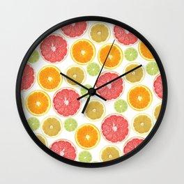 Citrus Love Wall Clock