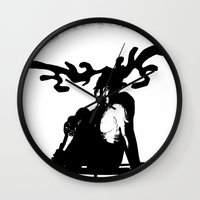 antler Wall Clocks featuring Antler by Maria Kate Betts