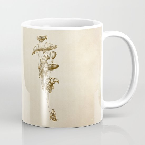 The Helium Menagerie (sepia) Mug